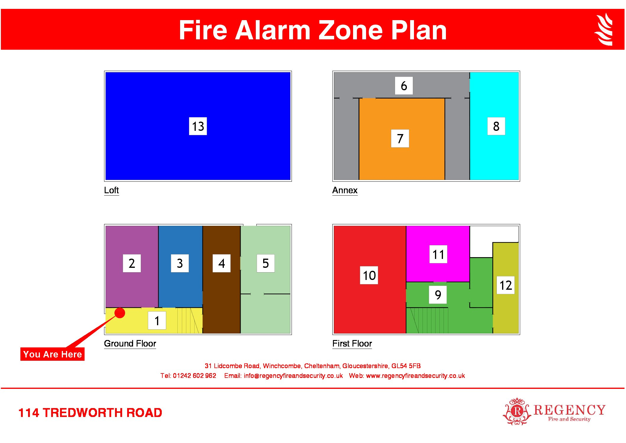 A Fire Alarm Zone Plan Will Make Your Business A Safer Place